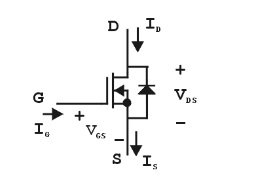 Схема включения транзистора обеднённого типа