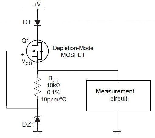 Защита измерительных цепей при помощи MOSFET транзистора